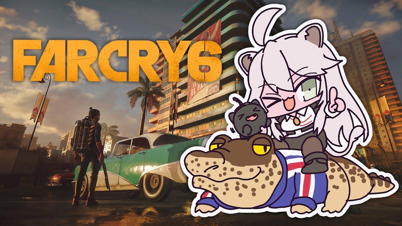 [Far Cry 6]Get a flamethrower and disinfect filth-Far Cry 6[Shishiro Botan / Holo Live]