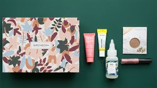 Birchbox Customization: October 2018