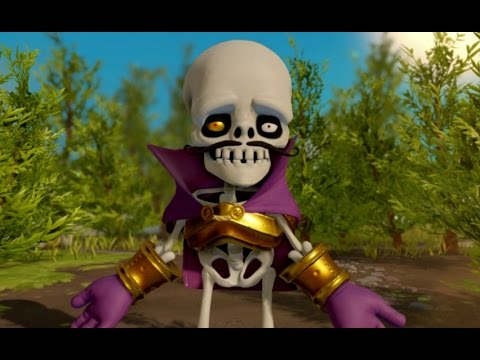 Skylanders Superchargers (Wii U) Walkthrough Part 5 - Land of the Undead (2 Player)