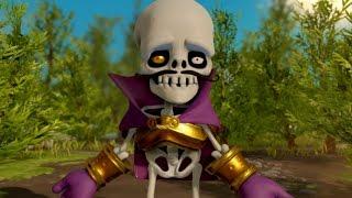 Skylanders Superchargers (Wii U) Walkthrough Part 5 - Land of the Undead (2 Player)