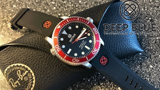 """Deep Blue """"Master 1000"""" Very Affordable Automatic Dive Watch"""