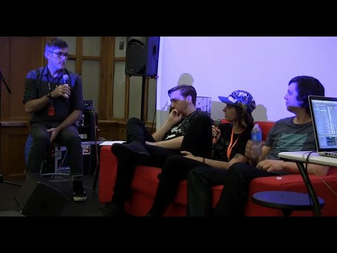 ELLIE HERRING & CHASE SMITH with Rich Randall & ABLETON :: VIA Music Conference @ 2014 VIA Festival