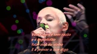 mariza oia l o senhor vinho with lyrics