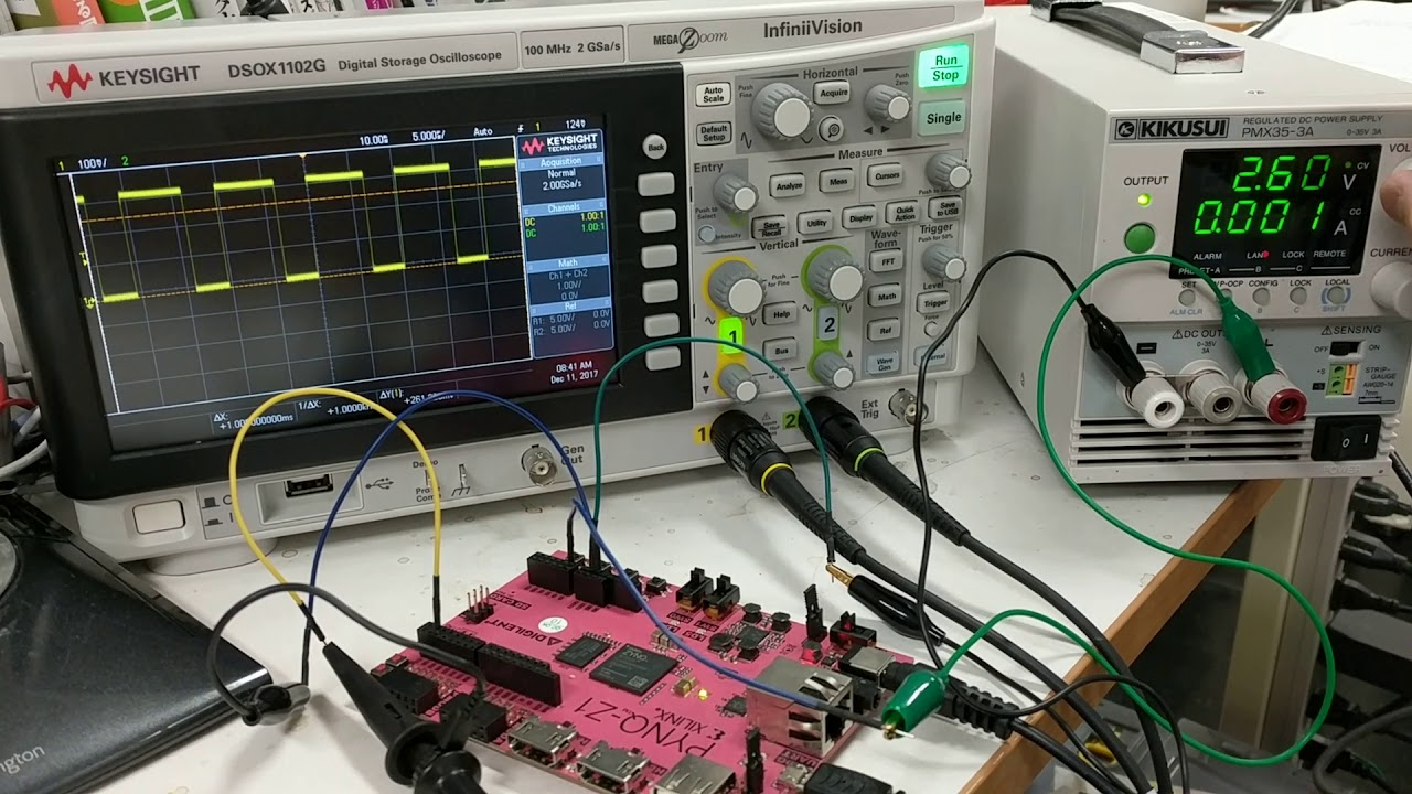 PWM control with XADC on ZYNQ