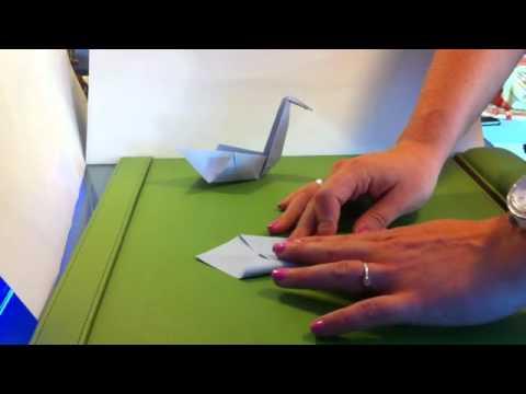 origami vogel falten papier vogel falten origami anleitung youtube. Black Bedroom Furniture Sets. Home Design Ideas