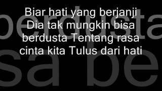 Ruri Feat Cynthia - Pesan Dari Hati (Lyrics Video)