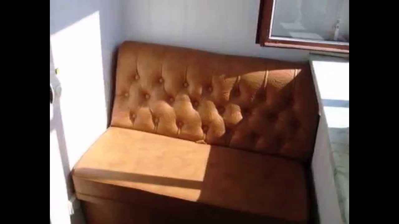 Стеллаж, шкаф-купе и откидной столик для лоджии на заказ - YouTube