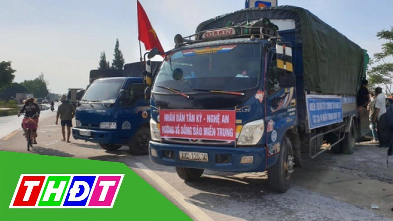 Dừng miễn phí BOT cho các phương tiện vận chuyển hàng cứu trợ | THDT