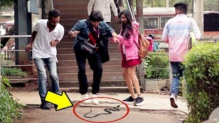Epic Snake Prank India | Baap Of Bakchod - Raj Khanna