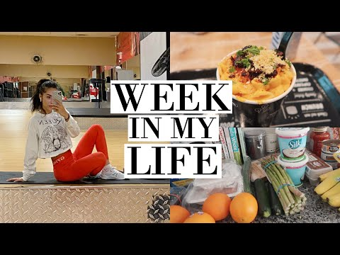 WEEKLY VLOG | HEALTHY GROCERY HAUL, SHOPPING & MORE
