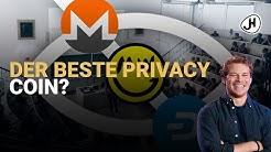 Monero vs. Zcash vs. Dash vs. Mimblewimble - der beste Privacy Coin?