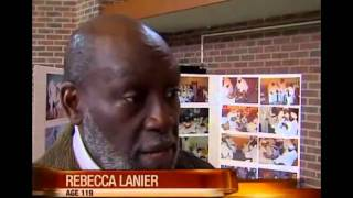 Oldest Woman in the US - 119-Year-Old African American Rebecca Lanier