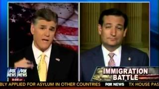 sen ted cruz joins sean hannity to talk about fixing our nation s broken immigration system