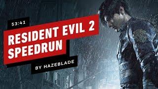 Resident Evil 2 Remake Speedrun Finished In 53 Minutes (by Hazeblade)