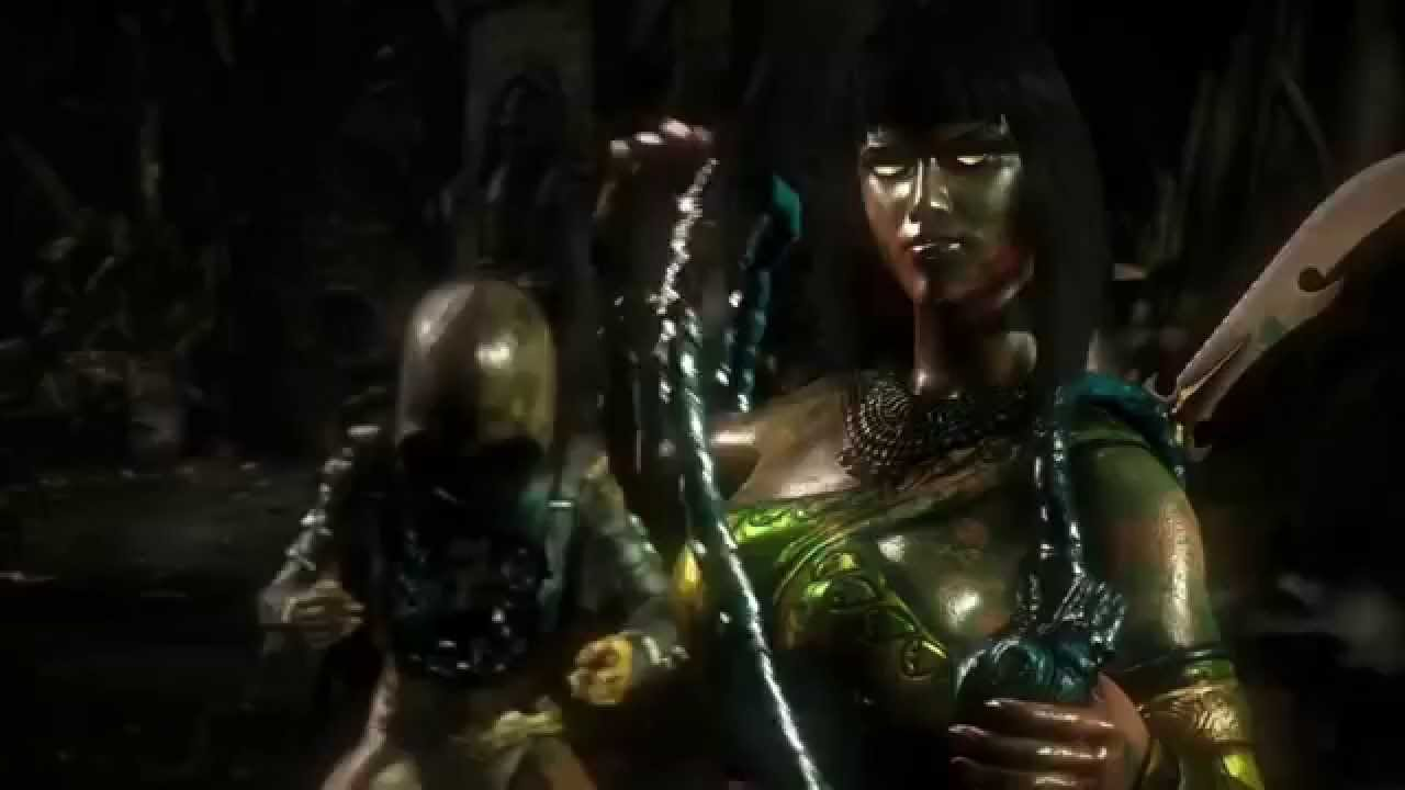 Mortal Kombat X All Female Fatalities Dlc Included Youtube