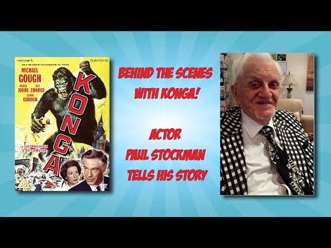 Behind the Scenes with Konga! Actor Paul Stockman Tells His Story