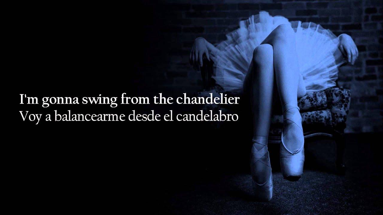 Sia Chandelier Subtitulada Español Inglés - YouTube