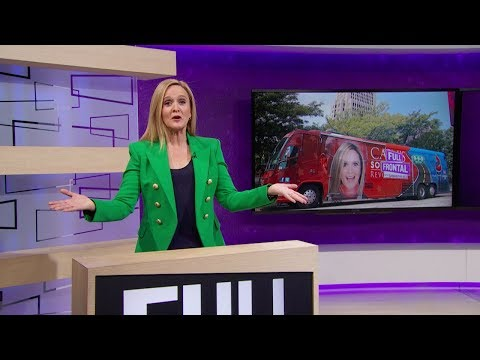 Samantha Bee vs. Have Bus, Will March vs. Full Frontal