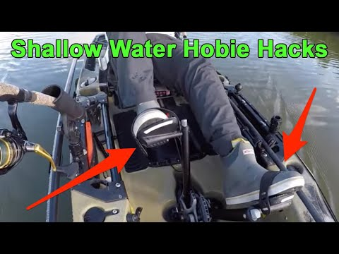 Using A Hobie Mirage Drive In Shallow Water [3 Tips]