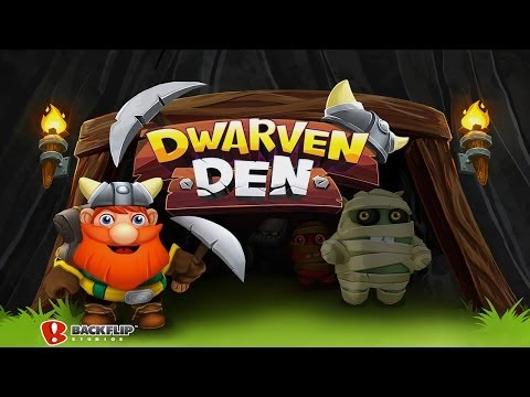 Dwarven Den™ - The Mining Puzzle Game - Universal - HD (Sneak Peek) Gameplay Trailer