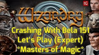Let's Play Wizardry 8 on Expert: Crashing With Bela #151 PC Gameplay HD