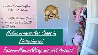 MELINA VERANSTALTET CHAOS!! || REBORNTREFFEN??? || Reborn Baby Deutsch || Little Reborn Nursery