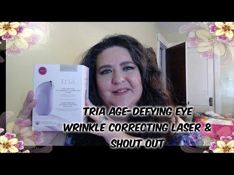 Tria Age-Defying Eye Wrinkle Correcting Laser\Shout Out