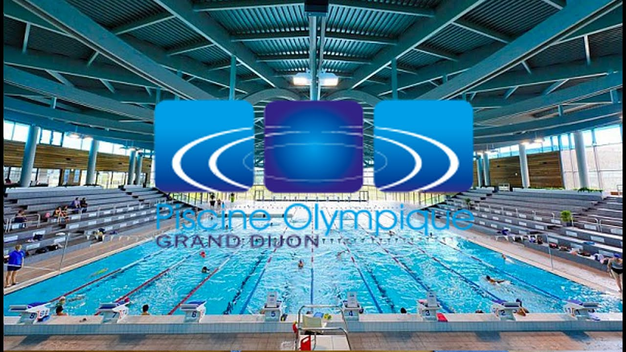 La piscine olympique du grand dijon youtube for Piscine olympique
