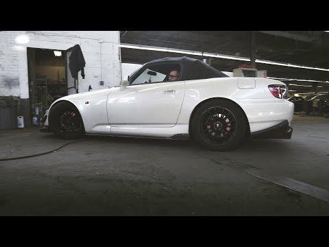 Honda S2000 - EVS Tuning Race Spec Roll Bar Install (4K)