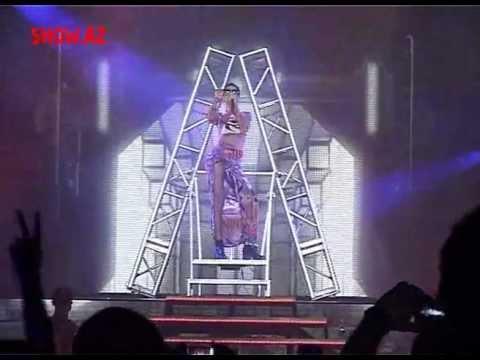 Rihanna Baku Azerbaijan konsert Ekskluziv show.az
