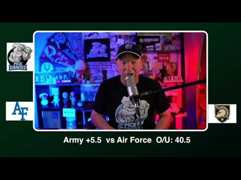Army vs Air Force Free College Football Picks and Predictions CFB Tips Saturday 11/7/20