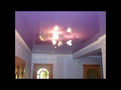 Натяжные потолки фото для спальни глянцевые