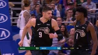 3rd Quarter, One Box Video: Orlando Magic vs. Milwaukee Bucks