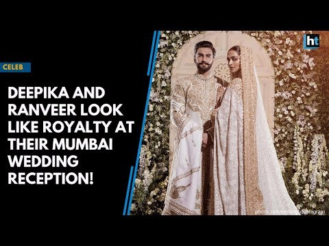 Watch: Deepika and Ranveer look like royalty at their Mumbai reception!