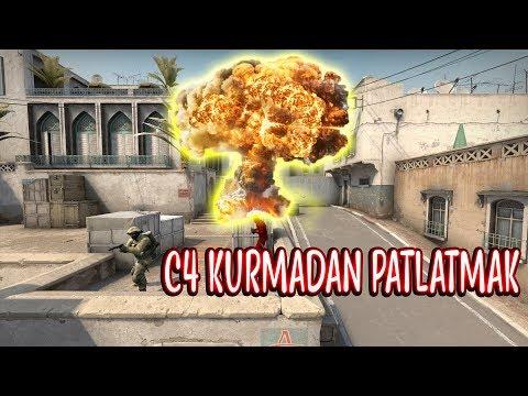 1 SANİYEDE C4 PATLATMAK İNTİHAR BOMBACISI!! (CS:GO)