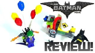 LEGO The LEGO Batman Movie 70900 Review: The Joker Balloon Escape