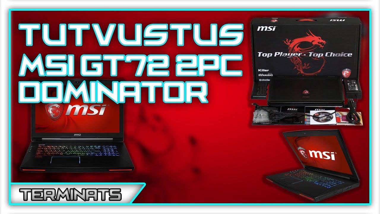 MSI GT72 2PC Dominator Keyboard Descargar Controlador