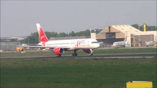 Vim Airlines B.757-200 departure from Maastricht-Aachen Airport