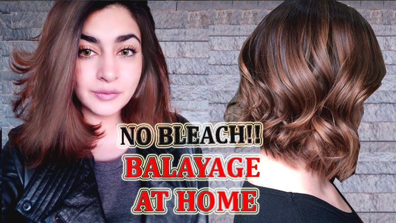 Black To Brown Hair  NO BLEACH Balyage At Home  In Urdu/Hindi  GLOSSIPS