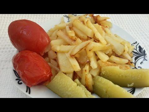 Картофель в мультиварке со сливочным маслом