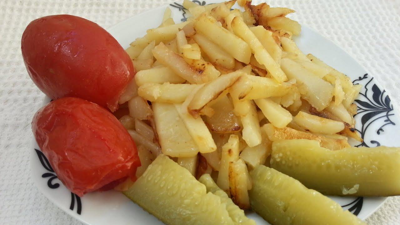 Как сделать картошку с маслом 542