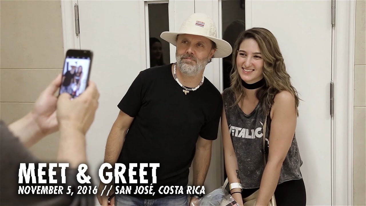 Metallica: Meet & Greet (San José, Costa Rica - November 5, 2016)