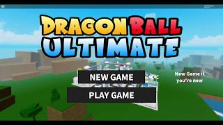-READ DESC- ROBLOX Dragon Ball Ultimate: Beating Every Boss!