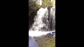 Wipeout car crash sounds Stocking Creek Falls 4 03 16