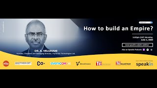 #ManagingChange with Dr. A. Velumani, Founder, Thyrocare Technologies Ltd. - How to build an Empire?