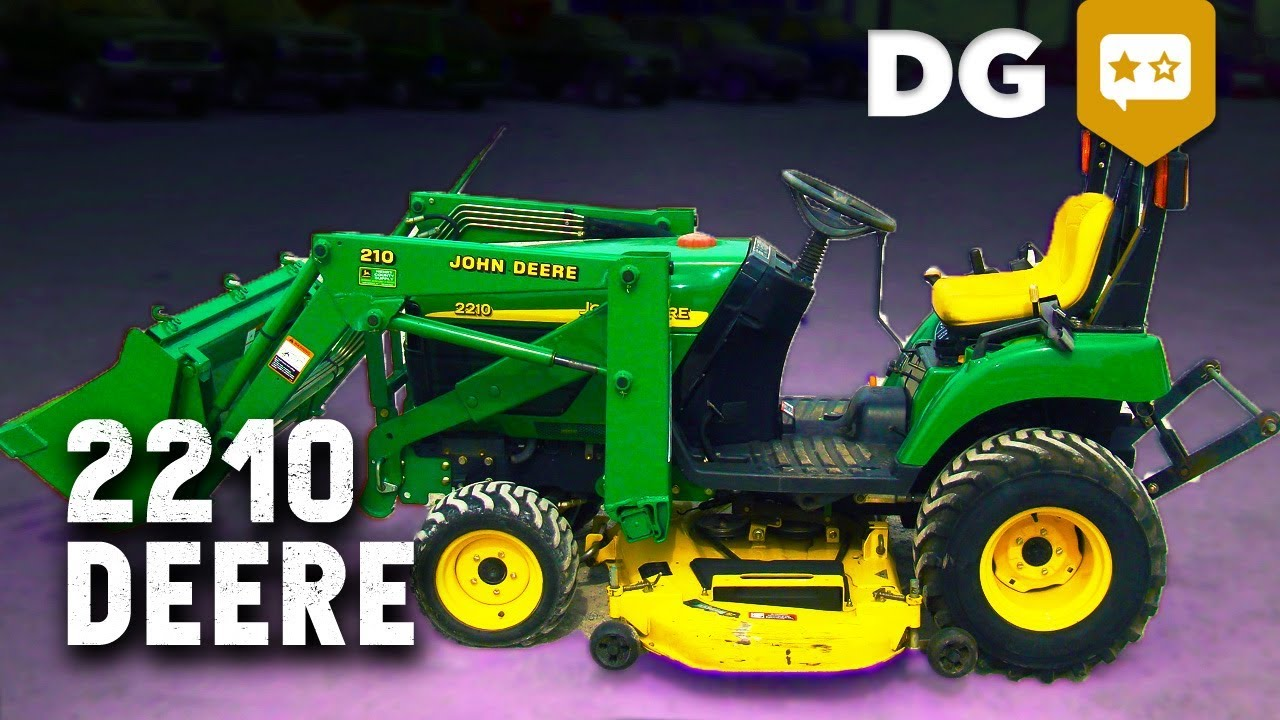 everything you wish you knew about a john deere 2210 [ 1280 x 720 Pixel ]