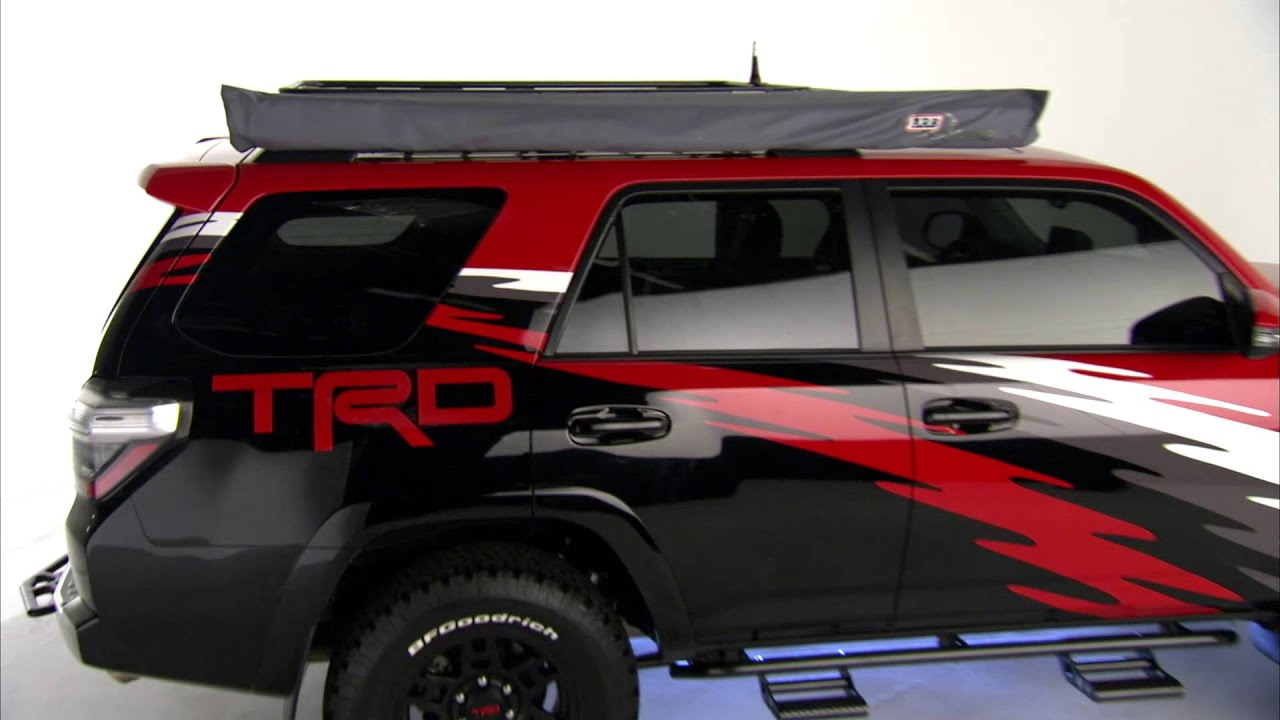 2015 Trd 4runner Built For Sema Youtube