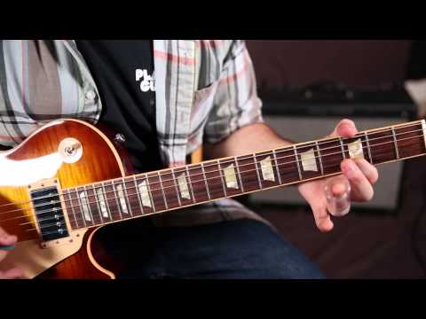 how to play when the levee breaks on guitar
