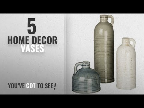 Top 10 Home Decor Vases [2018 ]: Decorative Jugs Set of 3