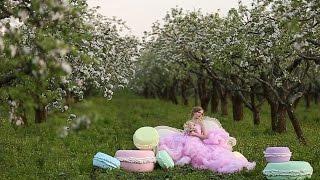 Волшебное love story Максима и Елены в яблочном саду. Свадебное видео.